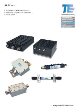 Filtry RF (Telemeter Electronic)