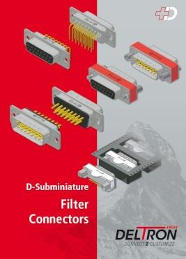 Katalog złącz filtrowanych D-SUB (Deltron)