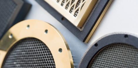 Panele wentylacyjne EMC stal nierdzewna
