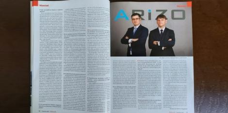 Wywiad z ARIZO w magazynie ELEKTRONIK