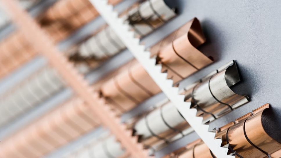 Pokrycia galwaniczne materiałów EMC