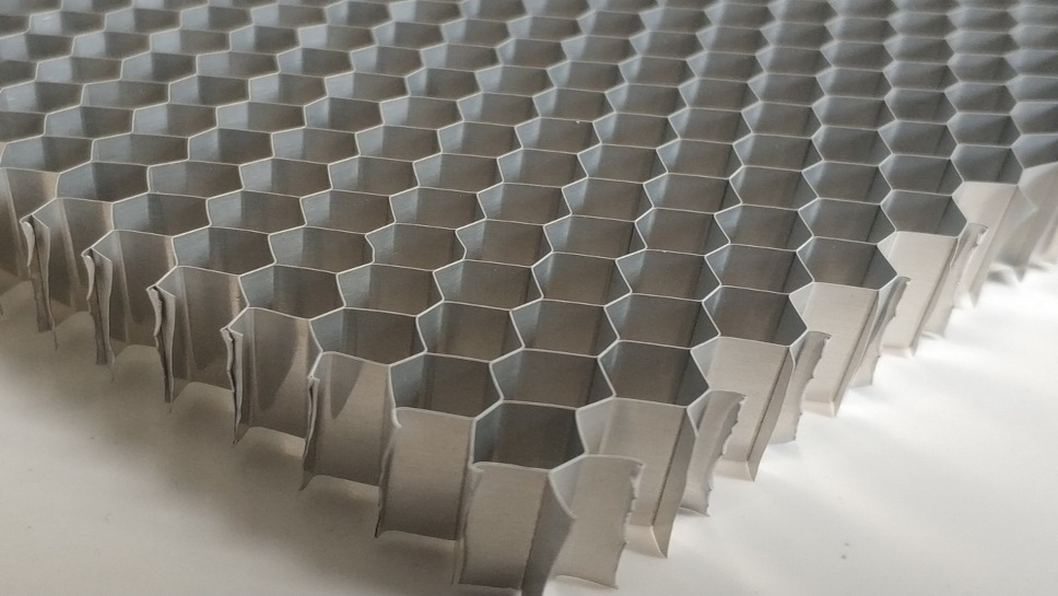 aluminiowe plastry miodu EMC cięte na wymiar
